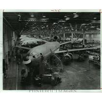1979 Press Photo Aircraft at McDonnell Douglas Corp. - hcx09412