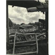 1982 Press Photo Pan Am Flight 759 Crash site - noa90937