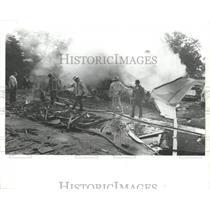 Press Photo L'Express Flight 508 Plane Crash Site in Alabama - abna10237