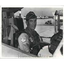 Press Photo Close up of Brigadier General Jimmy Jumper - sba19975