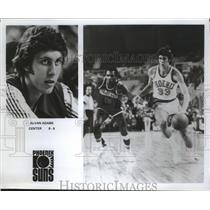 Press Photo Phoenix Suns center Alvan Adams - sas02265