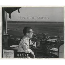 1950 Press Photo command tower, Craig Air Field, Selma, Alabama - abna12017
