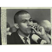 1968 Press Photo Nicholas Dorenzo of Devil's Disciples street gang in Chicago.