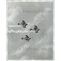 1973 Press Photo Bi-Planes in Air Carnival, New Orleans - not00159
