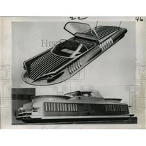 1959 Press Photo Futuristic Aircar Design - not01389