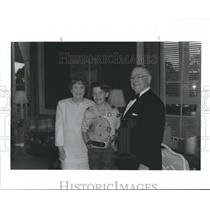 1992 Press Photo Harry & Sue Bovay Honored at Sam Houston Boy Scouts Dinner.
