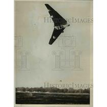 """1926 Press Photo Tailless """"Pterodactyl"""" exhibited at Royal Air Force Pageant"""