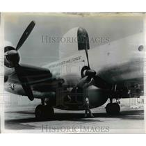 1954 Press Photo Powerful Airborne Radar Built Manufactured by GE Company