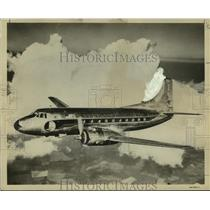 1952 Press Photo New Eastern Air Lines' forty passenger plane, Silver Falcon