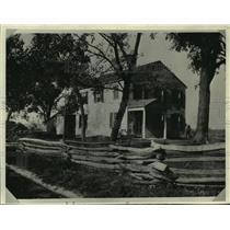 1832 Press Photo Indian Agency House at Portage, Wisconsin - mjb89868