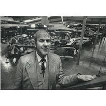 1978 Press Photo Paul Poberezy, president, founder Experimental Aircraft Assoc.