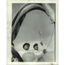 1969 Press Photo George Angerson and Charles Rivera - nob04739
