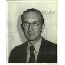 1972 Press Photo James Ferguson, Engineering aide, employed by The Boeing Co.
