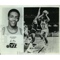 Press Photo New Orleans Jazz basketball forward Ron Behagan - sas05757
