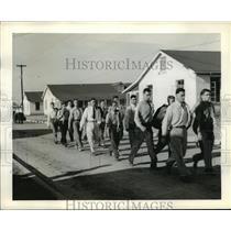 1941 Press Photo Maxwell Field, Men at Southeastern Air Corps Training Center