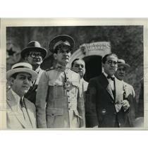 1931 Press Photo Maj Manuel Espinosa found not guilty of assassination attempt