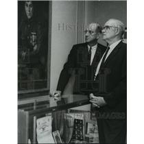1968 Press Photo Glenn Messer, and Orville Lawson, Birmingham Aero Club, Alabama