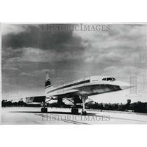 Press Photo 001 supersonic airliner Concorde, - KSK30609