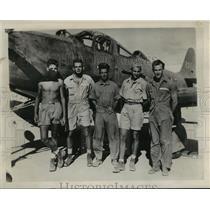 1943 Press Photo Tech Sgt Harold F Castle - nem51839