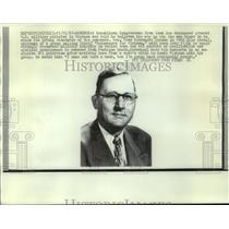 1960 Press Photo Republican congressman Fred Schwengel of Iowa opposes Vietnam