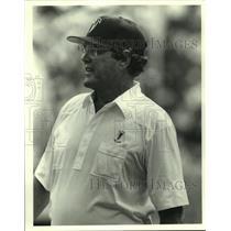 Press Photo Atlanta Falcons football coach Marion Campbell - sas06305