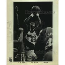 Press Photo Portland Trail Blazers basketball guard T.R. Dunn - sas06377