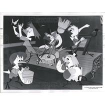 1964 Press Photo Walt Disney's Wonderful World Of Color - RRV71345