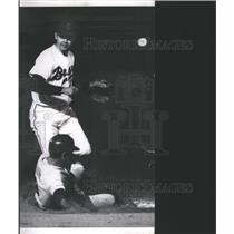 1969 Press Photo Baseball Denver Bears Young Slide - RRQ04869