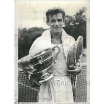 1938 Press Photo Franjo Punec Tennis Player - RRQ04041
