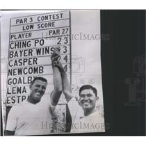 1963 Press Photo Chen Ching Po golf's players - RRQ03405