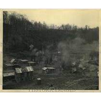 "1943 Press Photo Armored Force School train tactics in hidden ""Blitz Village"""