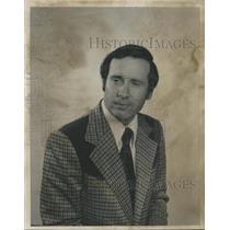 1974 Press Photo John P. Ward, President, Birmingham Aero Club, Alabama