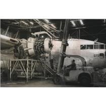 1956 Press Photo Birmingham, Alabama Industries: Hayes Aircraft Modification