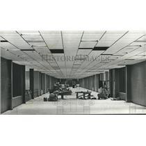 1972 Press Photo Loading ramp hallway at Birmingham Municipal airport