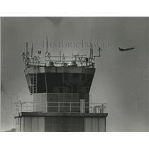 1981 Press Photo Birmingham, Alabama Airports: Municipal Control Tower