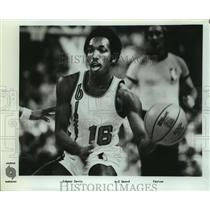 Press Photo Portland Trail Blazers basketball guard Johnny Davis - sas07492