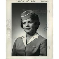 1962 Press Photo Stewardess Patricia M. Wittenburg, Coeymans, South Main Street