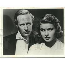 1917 Press Photo In 1939, Leslie Howard & Ingrid Bergman Starred in Intermezzo
