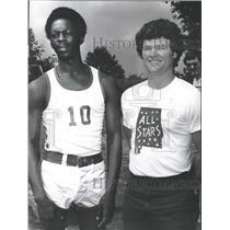 1877 Press Photo Oden and Glascox, All star basketball representatives, Alabama