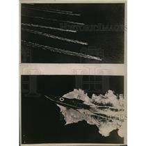 1919 Press Photo Coastal Boats of the Auxiliary Patrol at Top Speed - nem53307