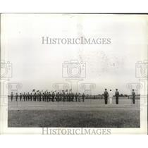 1941 Press Photo Cadet officers during regimental ceremonies at Maxwell Field