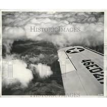 1941 Press Photo Weest Point of the Air Randolph Field Tx in an aerial view