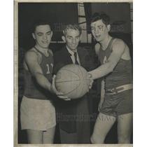 1951 Press Photo Tom Jorgensen Rog Duddleston Jorgensen - RRQ18251
