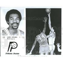 1979 Press Photo Indiana Pacers Player James Edwards - RRQ24059