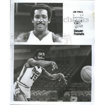 1978 Press Photo Jim Price Denver Nuggets Basketball - RRQ27703