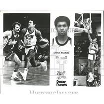 1979 Press Photo Chuck Williams of Denver Nuggets baske - RRQ22739