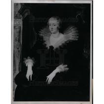 1935 Press Photo Peter Paul Rubens J.P. Morgan Painting - DFPD06303