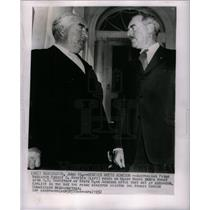 1952 Press Photo Menzies Prime Australian Minister - DFPD04411