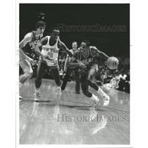 1985 Press Photo Walter Davis Phoenix Suns Basketball - RRQ19153