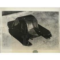 1931 Press Photo New type of plane with a rotating wings with easy storage